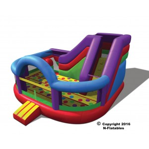 Party Package 3 – Wacky Kidzone, 2 Tables, 16 Chairs 2